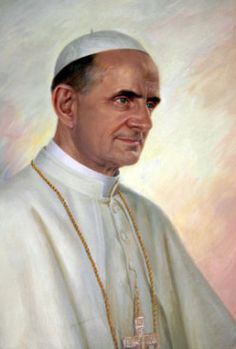 Pope Paul VI who was head of the Catholic Church from 1963 to 1978