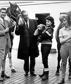 Walt Disney with Annette Funicello and Hayley Mills