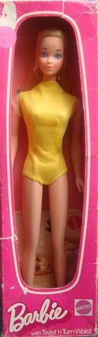 1973 Standard Barbie European BARBIE  FRIENDS NRFB ARCHIVES