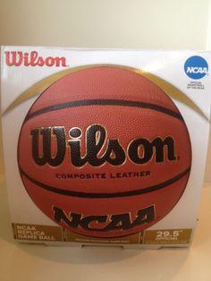 New-Wilson-NCAA-Replica-Game-Ball-Composite-Leather-Basketball-29-5-WTB0730 http://www.ebay.com/usr/ccfl8?_trksid=p2047675.l2559