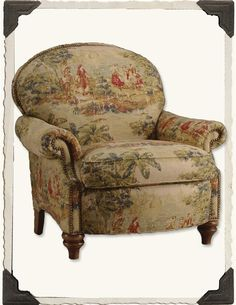 PAINTED TOILE CHAIR