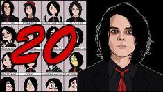 20 ART STYLES CHALLENGE!!!   Gerard Way