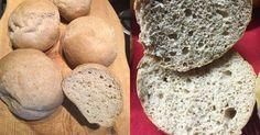 Foszlós pihe-puha paleo zsemle (paleo, szénhidrátszegény, gluténmentes, laktózmentes, élesztőmentes)