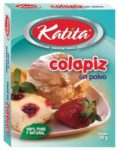 Diseño empaque caja marca KATITA para Colapiz