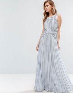 New Look Premium Embellished Maxi Dress