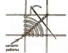 Схемы плетения. Грибок.