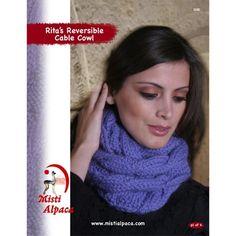 Misti Alpaca 1081 Ritas Reversible Cable Cowl PDF