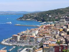 Porto Santo Stefano panoramic view