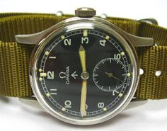 vintage Royal British Army watch by Omega