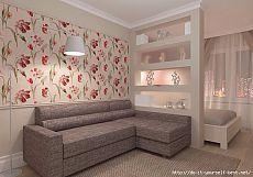 20 idéias interessantes usando o espaço em um pequeno apartamento