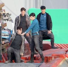 "At first I was like, ""Hmmm, another Spock? What's that about?"" Then I'm like, ""Oh, stupid. You see but you do not observe! They are stunt doubles!"" I feel like Sherlock is going to randomly appear and give me dirty looks for being so oblivious."