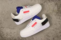 Nike Air Force 1 Low Type N 354 'Summit White' BQ4793-100 Nike Air Force Low, Custom Sneakers, Custom Shoes, Malaga, White Air Force 1, Custom Air Force 1, Nike Kicks, Converse, Adidas Stan Smith