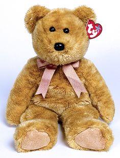 Cashew - bear - Ty Beanie Buddies