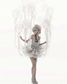 Dress Design - Daisy Balloon