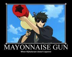 gintama funny | Gintama (De)Motivational Poster(The Gun!!!!) by TheBlueEyedVampire
