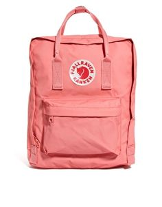 Fjallraven Kanken Backpack -- cute for summer biking and picnics ^_^