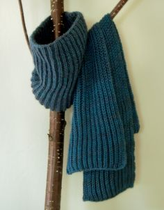 Whit's Knits: Fisherman's Rib Scarf and Cowl - The Purl Bee - Knitting Crochet Sewing Embroidery Crafts Patterns and Ideas!