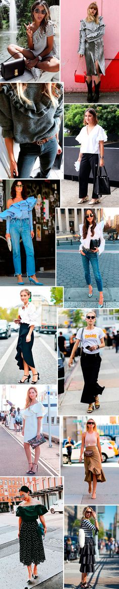 Trendy now: babados
