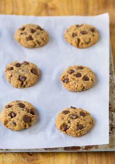 Easy Paleo Chocolate Chip Cookies!