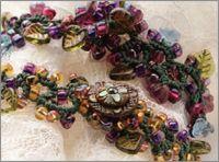 Tatted Leaves Bracelet by Esther Trusler