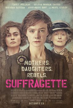 SUFFRAGETTE is a powerful drama about the women who were willing to lose everything in their fight for equality in early-20th-century Britain. The stirring story centers on Maud (played by Carey Mulligan), a working wife and mother whose life is forever changed when she is secretly recruited to join the U.K.'s growing suffragette movement. Galvanized by the outlaw fugitive Emmeline Pankhurst (Meryl Streep), Maud becomes an activist for the cause alongside women from all walks of life…