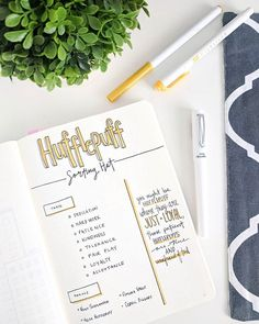 Which house are you in?? ⬇️⬇️⬇️ On Monday when I shared this Hufflepuff spread for #PlannerMonday, I was shocked to see that so many of you are Hufflepuff and Ravenclaws ! I love creating random, j