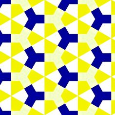 Meidoorn Yellow & Blue Pattern by Stoflab