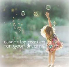 never stop reaching for your dreams Children Photography, Family Photography, Art Photography, Amazing Photography, Bubble Photography, Little Girl Photography, Foto Fun, Foto Baby, Jolie Photo