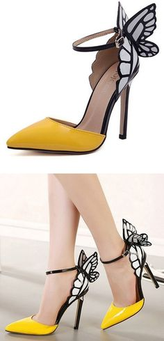 10. Ode to #Nature - Gorgeous #Shoes to #Satisfy Your Shoe Lust ... → #Fashion…