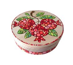 Jewelry box Pomegranates