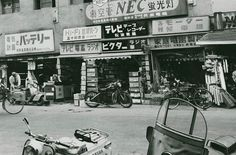 昭和の秋葉原 ・ Akihabara, during the Showa-era..。