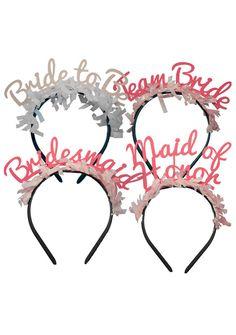PARTY UP TOP HEADBANDS: BRIDAL PACK – Shopbracket