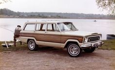 Against the Grain: 21 Woodies That Weren't Station Wagons - 1970–1991 Jeep Wagoneer: for most of the vehicles on this list, wood grain was little more than a style element. In the case of the Jeep Wagoneer, it added years to the model's life.