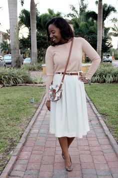 Cute day to evening look by Typhanie of My Garments of Praise.
