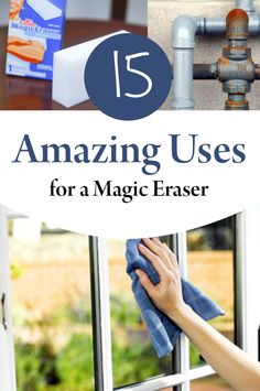 Magic eraser, cleaning, cleaning, cleaning tips, cleaning with a magic eraser, popular pin, cleaning hacks.