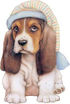 tube chien - Page 2 Animals Images, Animal Pictures, Cute Images, Cute Pictures, Dog Illustration, Illustrations, Dog Clip Art, Baby Animals, Cute Animals