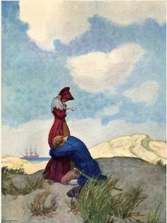 Sweetest, most pathetic, most adorable proposal in the history of proposals!!!! David Balfour -- N. C. Wyeth