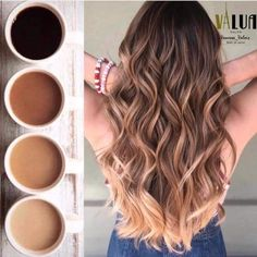 Ombre How to take care of dyed hair – Just Trendy Girl. Alpingo Balayage , How to take care of dyed hair – Just Trendy Girl. How to take care of dyed hair – Just Trendy Girl. How to take care of dyed hair – Just Trendy Gi. Brown Hair Balayage, Brown Blonde Hair, Hair Color Balayage, Light Brown Hair, Brunette Hair, Hair Highlights, Blonde Wig, Blonde Balayage, Blonde Honey
