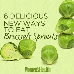 Give one of these mouthwatering recipes a shot, and you'll never look at sprouts the same way: http://www.womenshealthmag.com/nutrition/brussels-sprouts?cm_mmc=Pinterest-_-womenshealth-_-content-food-_-brusselssprouts