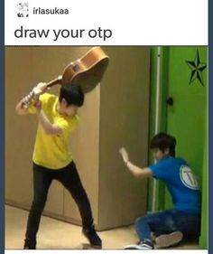 otp challenge ((omg it's our woozi! {from seventeen} *the one with the guitar. He's so 'precious' ))raise your hand if you know who he/they is/are *raises hand* <<<they are Korean right idk kpop or something Drawing Challenge, Art Challenge, Drawing Reference Poses, Drawing Tips, Drawing Stuff, Kpop Memes, Funny Memes, It's Funny, Funny Stuff