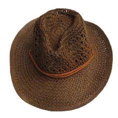Summer Style Straw Unisex Cowboy Hat. Summer Style Straw Cowboy Hat Unisex Hollow  Western Hats ... 98fd08a24a23