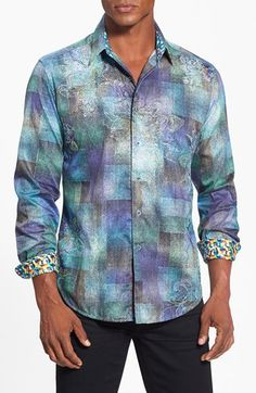 Robert Graham 'Molaa Bay' Classic Fit Sport Shirt available at #Nordstrom