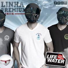Linha Premium (P,M,G e GG). #lifewater #surf #lifewatersurf #sup #surftee #tshirt #santos #lifestyle