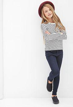 Classic Skinny Jeans (Kids) | FOREVER21 girls | #f21kids