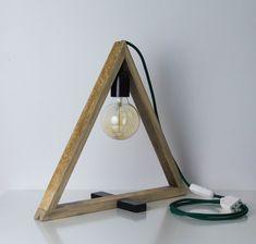 Lampe triangulaire.