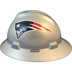 New York Giants Full Brim Hard Hat w Tote Bag