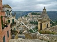 """Ragusa Ibla in Sicily, the townt of baroque but also of the tv fiction """"commissario Montalbano"""""""