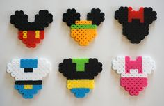 Disney Mickey Mouse Shape Characters