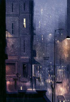 Rainy January #pascalcampion
