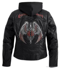 HD leather jacket- this is my leather jacket, I love it!